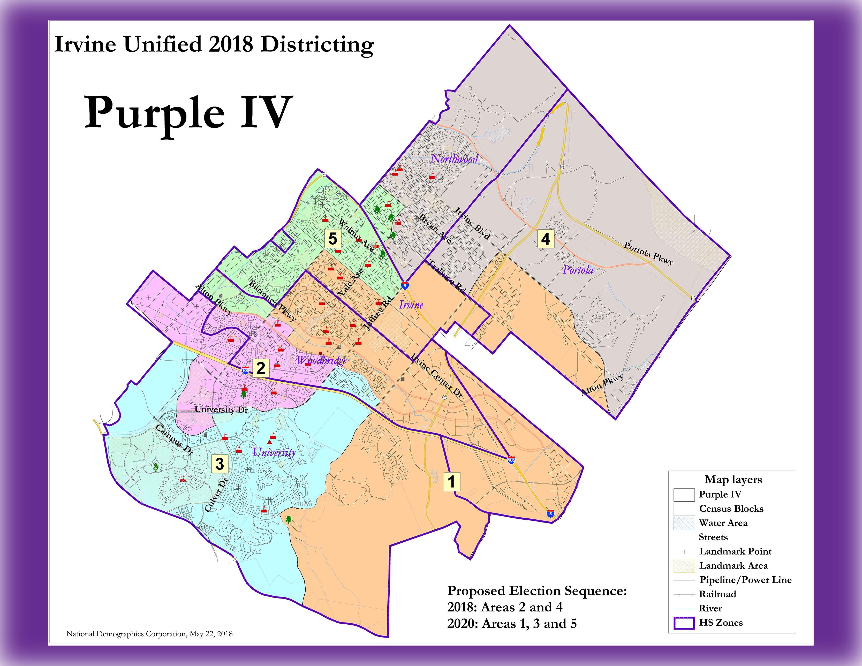 IUSD Trustee Area Map | IUSD.org