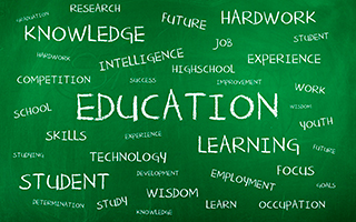 Education on Chalkboard