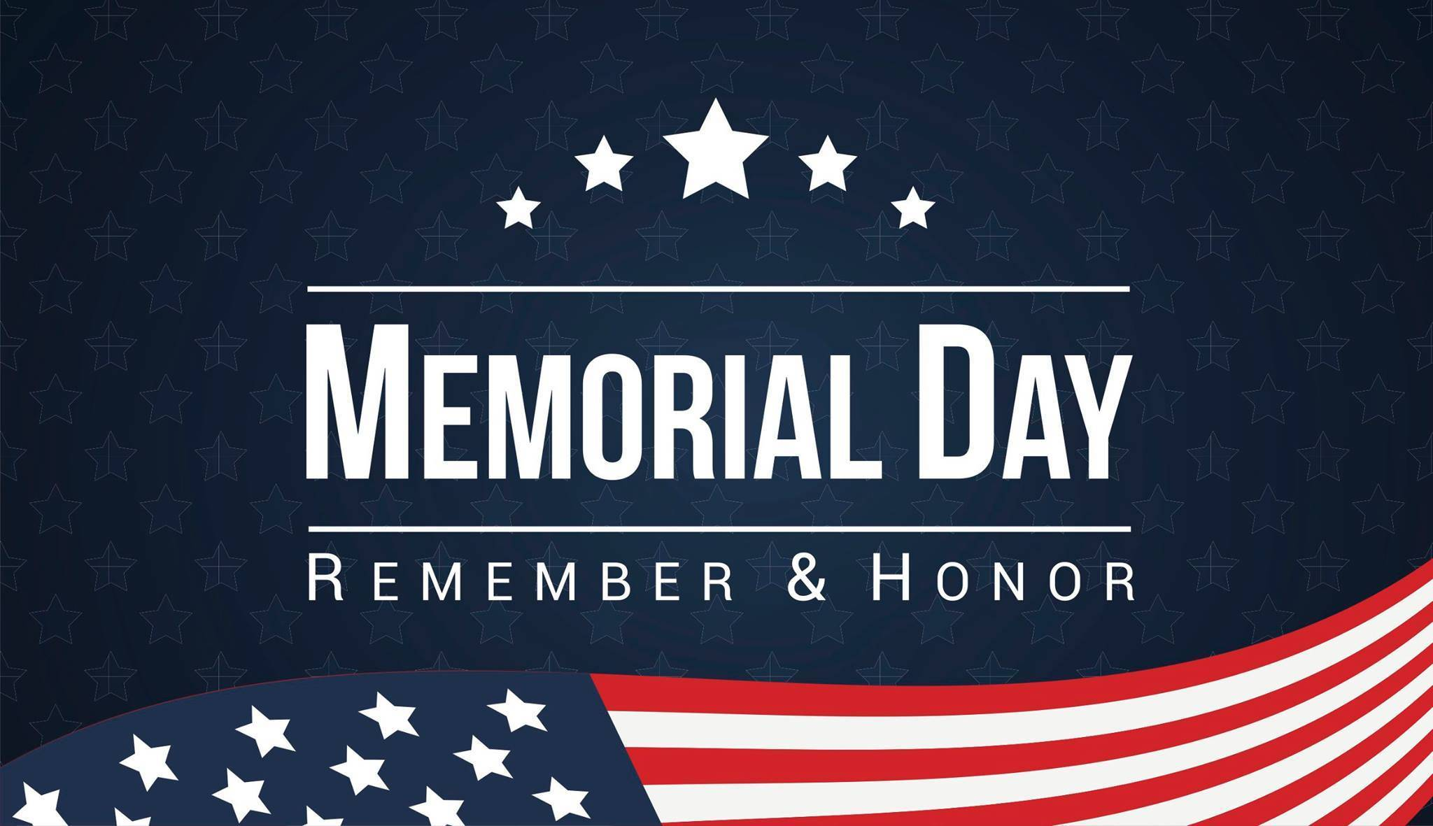 LIBRARY CLOSED - MEMORIAL DAY HOLIDAY