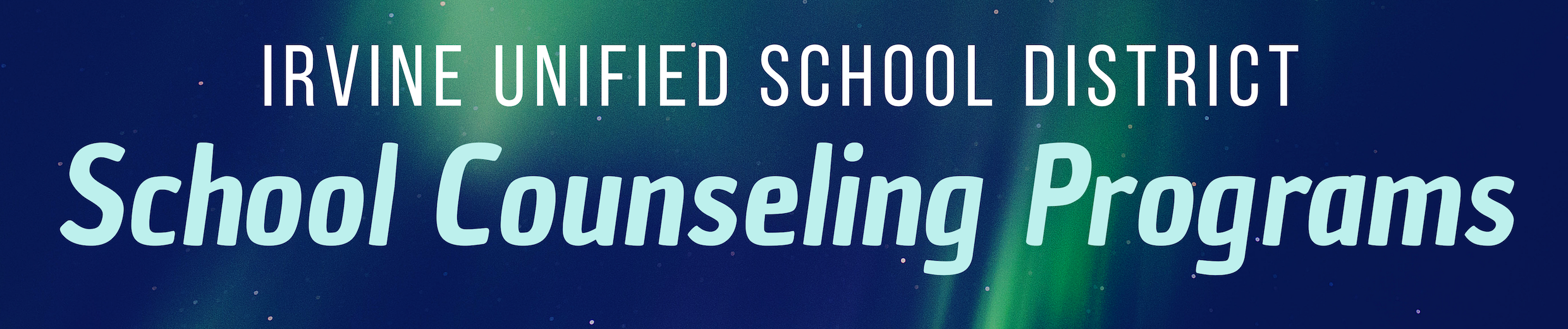 School Counseling Programs