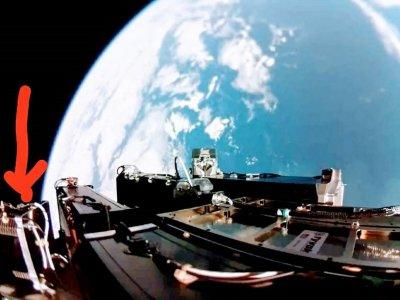 CubeSat in Rocket Pod