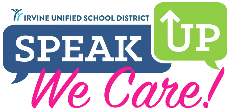speak up we care logo