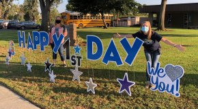 Rancho Middle School Welcomes Students Back