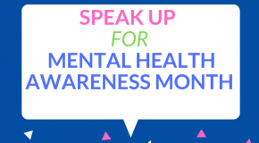 IUSD Supports Mental Health Awareness Month Graphic