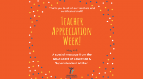 IUSD Teacher Appreciation Week