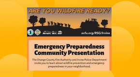 OCFA IPD Wildfire Prevention Presentations