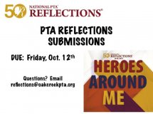 PTA Reflections Submissions Oct 2018