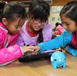 Children coding