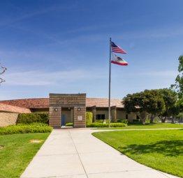 Front View of University High School