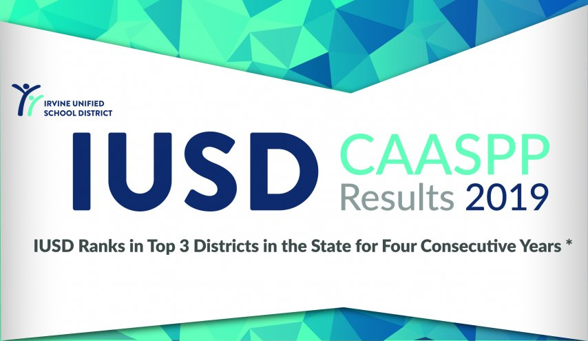 IUSD Ranked Top 3 in State