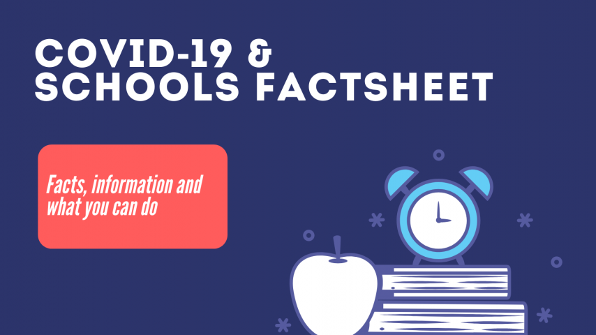 COVID-19 and Schools Factsheet