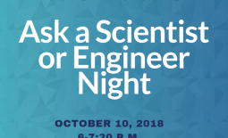 Ask a scientist graphic