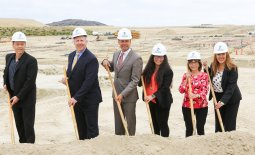 IUSD Board Members at Loma Ridge Ground Breaking