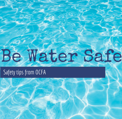 IUSD Be Water Safe Tips Graphic
