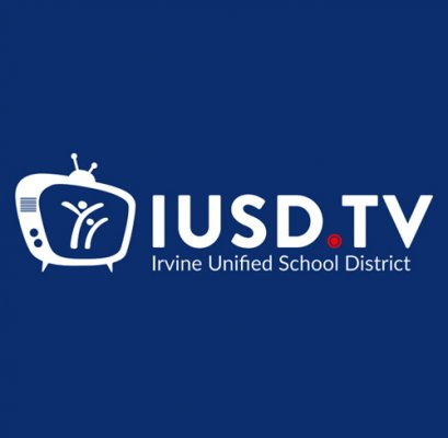 iusd.tv logo in a square format