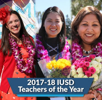 2018 teachers of the year