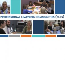 professional learning photo collage