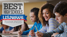 IUSD High Schools Rank Top in State and Nation