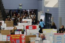 Crowd at Astounding Inventions