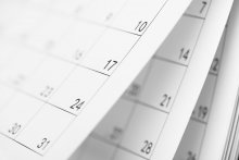 Image of calendar pages