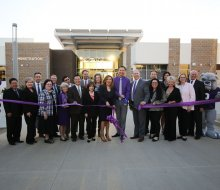 phs staff dedicating the new high school