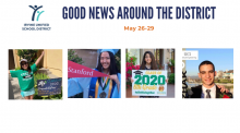 IUSD Good News Around the District May 26-29