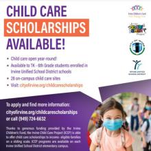 Irvine Children's Fund Scholarships