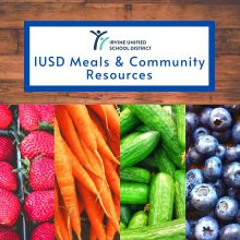 IUSD Free Meals for Students