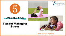 IUSD Weekly Five Managing Stress