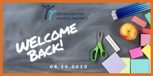 Welcome back to school IUSD students and families
