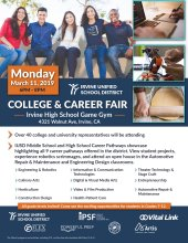 College and Career Flyer