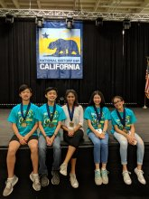 Sierra Vista Middle School Students at State National History Day Competition
