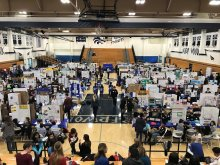 IUSD Science Fair in Northwood Gym