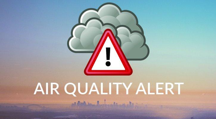 Air Quality Alert Graphic
