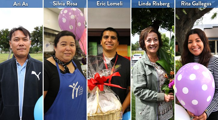 2017 Classified Employees of the Year