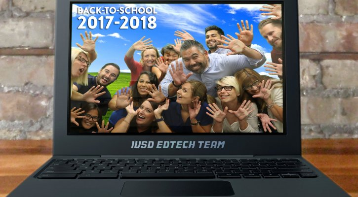 Image of education technology team