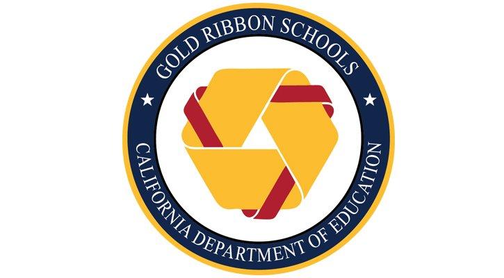Gold Ribbon schools  logo