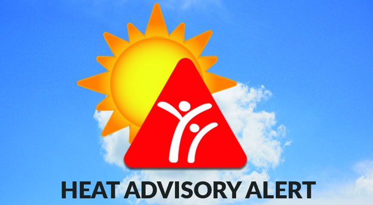 Heat Advisory alert
