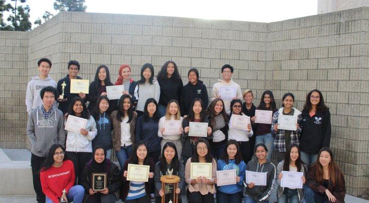 Irvine High School Journalism Team