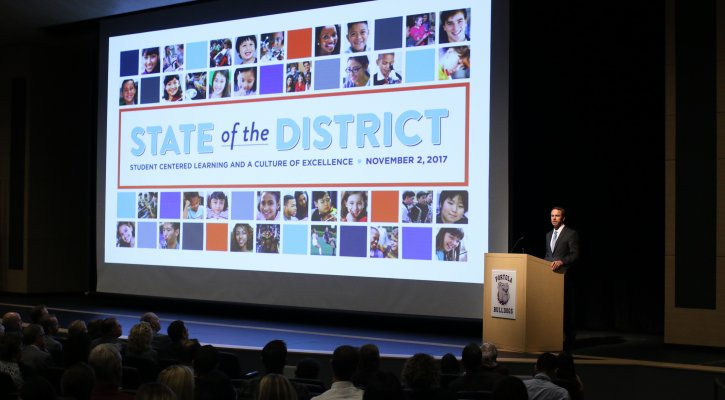 Image of Superintendent Walker at the State of the District