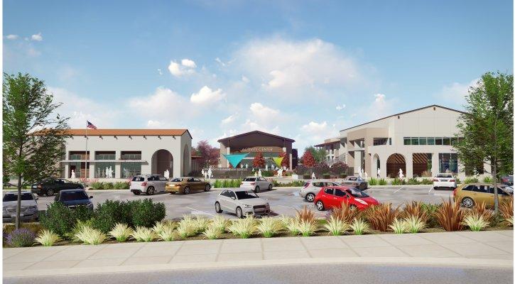 Conceptual rendering of Loma Ridge Elementary School
