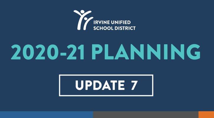 Planning Update 7