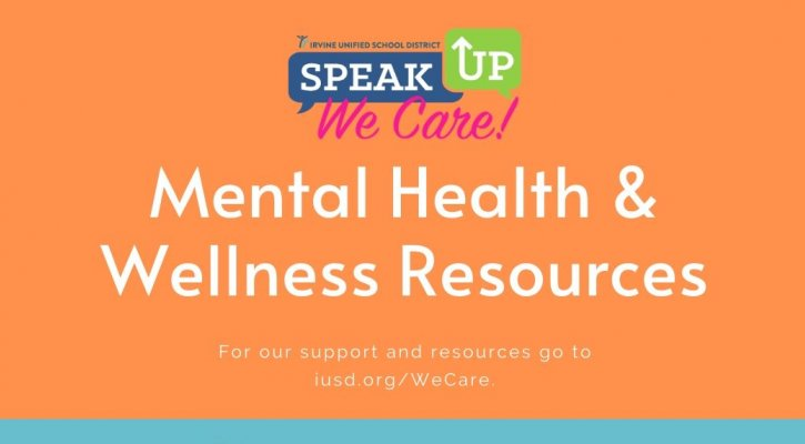 IUSD Mental Health and Wellness Graphic