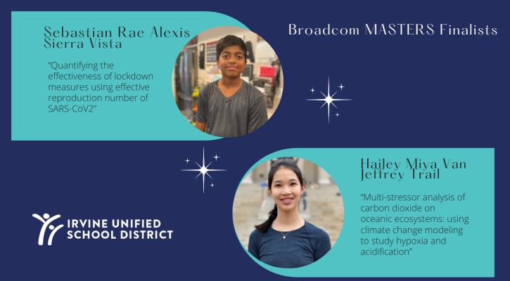 Broadcom masters finalists
