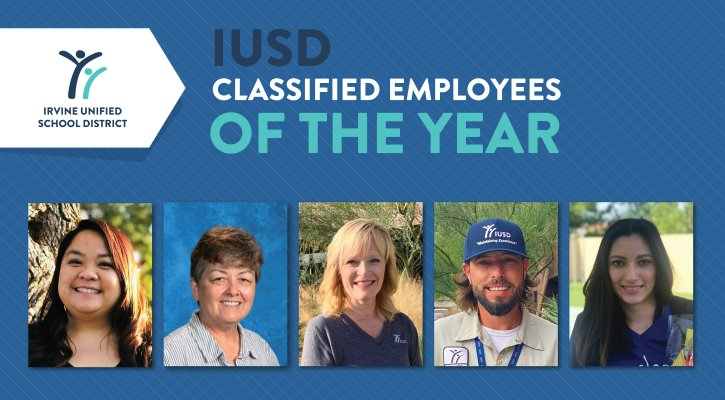 2020 Classified Employees of the Year