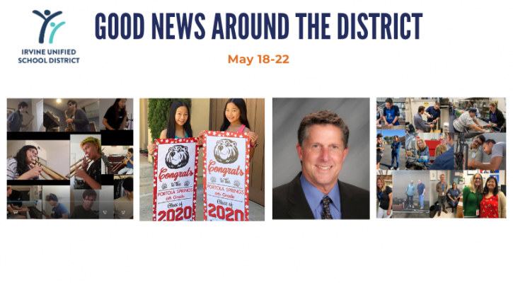 IUSD's Good News Around the District May 18-22