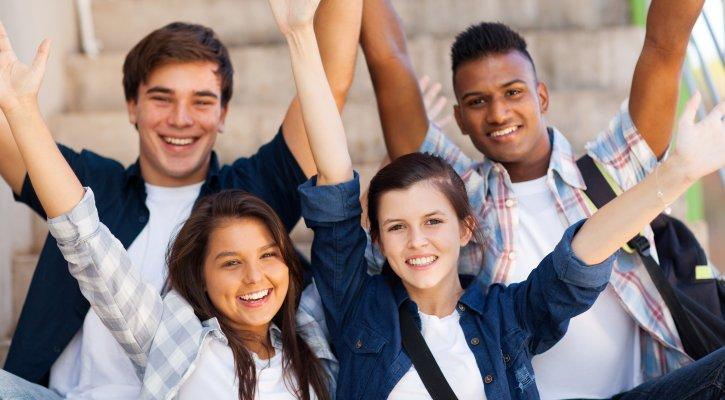 IUSD PBIS Happy Teens