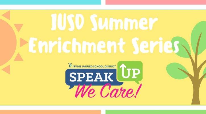 IUSD Mental Health and Wellness Summer Enrichment Series