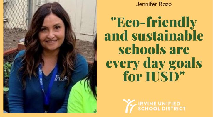 IUSD Sustainability Supervisor Jennifer Razo