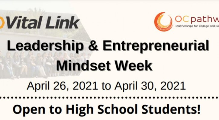 Leadership and Entrepreneurial Mindset Week